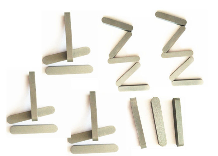Arc Shaped Cemented Tungsten Carbide Wear Parts K20 / K30 ISO 9001 Approved