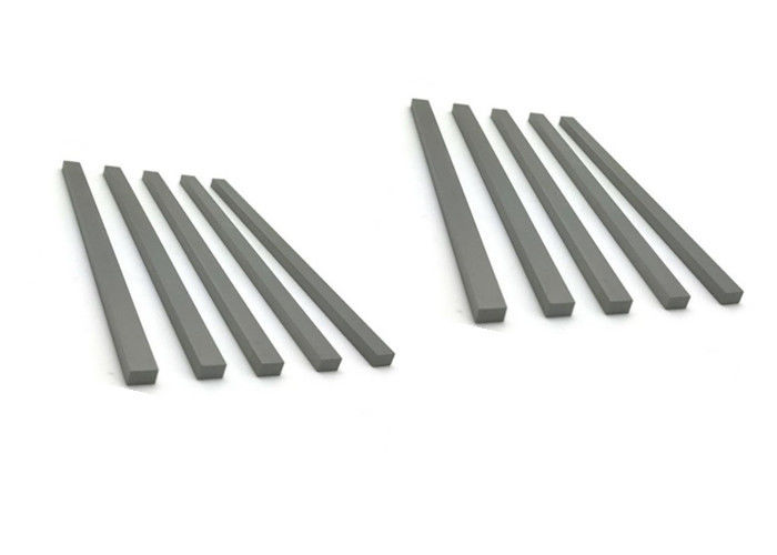 Custom Tungsten Carbide Square Bar , Carbide Wear Strips For Angle Cutting Tool Wood